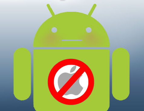 Android anti iphone