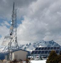 Foto della BTS Alpe Colmine