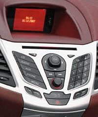 Computer di bordo della nuova Ford Fiesta