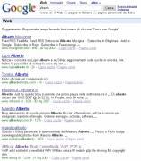 Alberto su Google